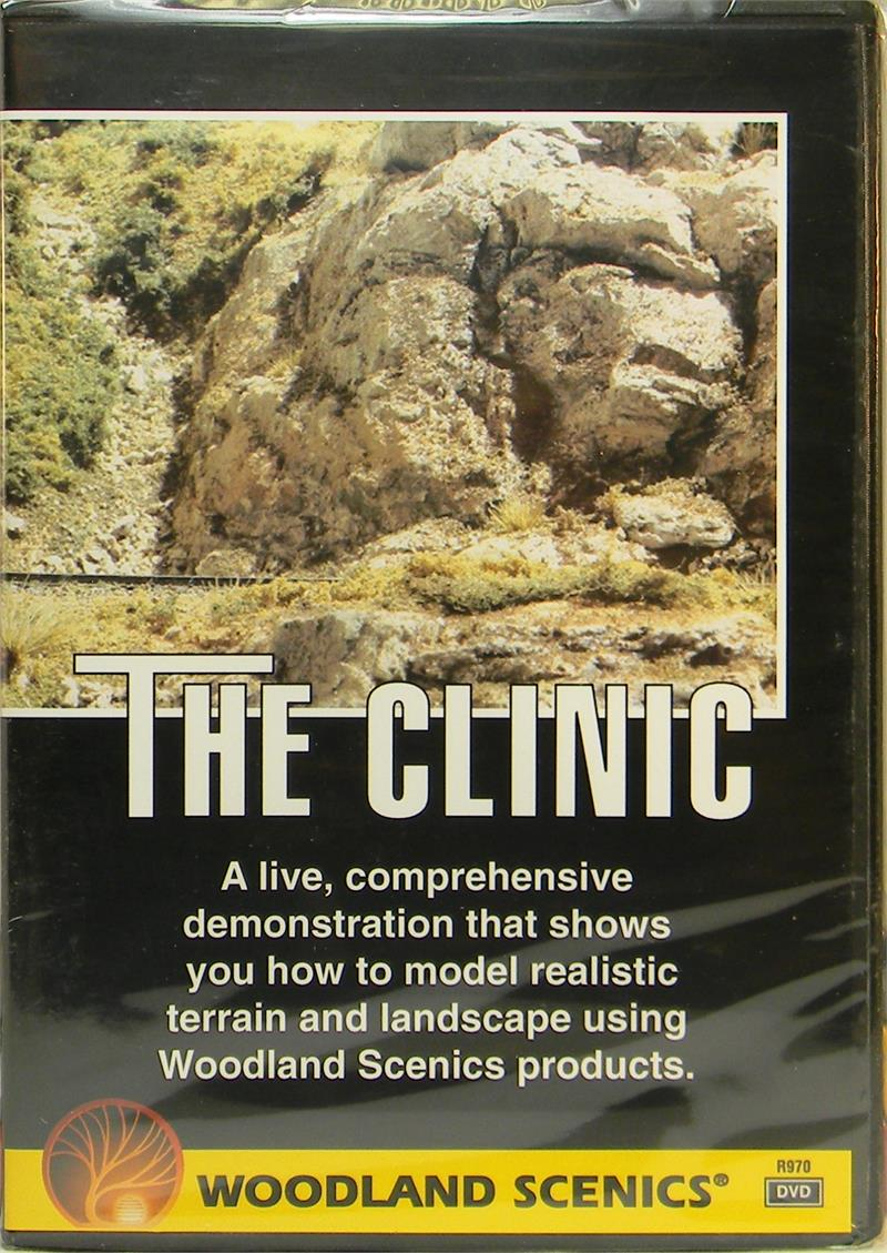 Woodland Scenics R970 The Clinic Lamdscaping & Terrain with